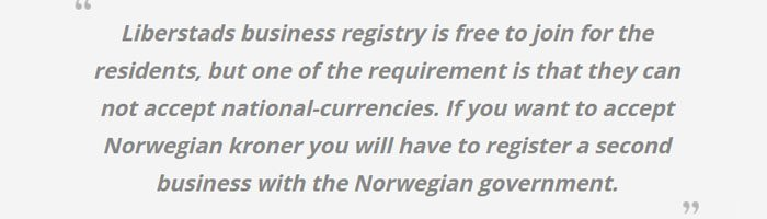 libertarian norway bitcoin